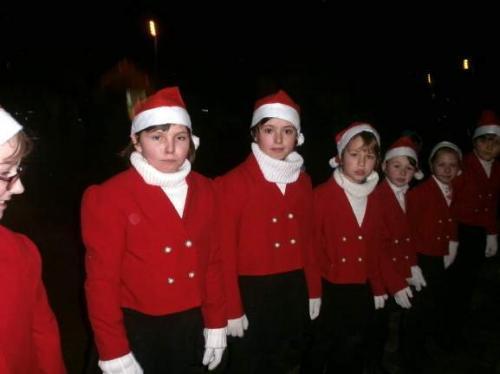 Rozsvícení vánočního stromu 30.11.2014