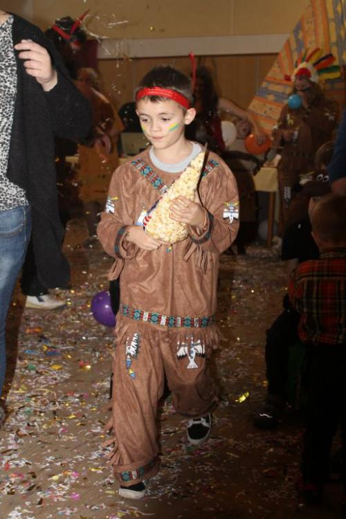 Dětský indiánský karneval 20.2.2016