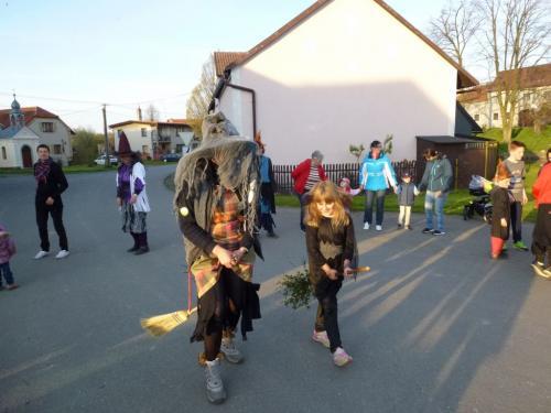 Slet a pochod čarodějnic 30.4.2016