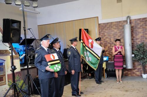 Slavnostní odhalení vlajky a znaku 15.9.2018