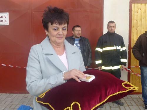 Slavnostní otevření hasičské zbrojnice 3.10.2018