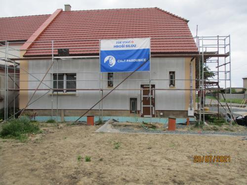 Komunitní centrum - stavba od 5.5.2021